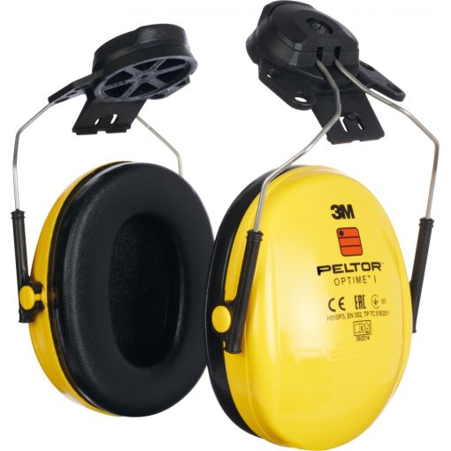 Protection antibruit 3M™ Peltor™ Optime I, H510P, pour casques | Protection auditive
